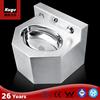 Kuge sinks stainless steel wash basin prison
