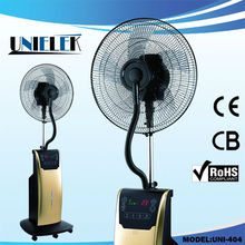 DIY CE/CB/RoHS 220V water bottle spray fan with ice padding Home 18 misting fan for sale