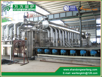 Industrial Heating Furnace Continuous Pusher Type Heating Furnace - output 20t/h~160t/h
