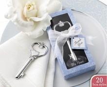 Key To My Heart Victorian Bottle Opener Wedding Favor