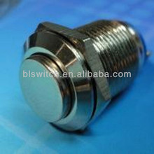 IP67 waterproof electrical momentary push button