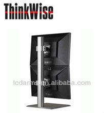 alumínio dupla livre suporte vesa braço monitor lcd