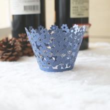2015 paper cups ,bowl flower cupcake wrapper laser DG-2