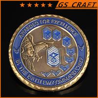 Super Quality Metal Pretty Customized replica euro coin