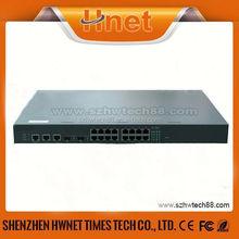 16 port gigabit managed optical switch