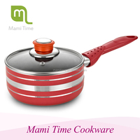 2015 hot sale popular style marble coated aluminium milk pot with induction bottom with high quality