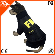 Bobby Dog Clothes Dog Police Coat Pet Dog Apparel with FBI