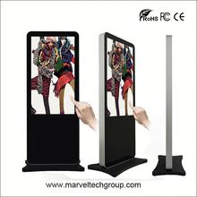 TOP high quality 55 inch wireless 1080p digital signage with optional customized