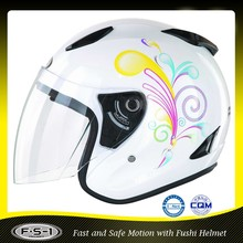 DOT ABS motorcycle helmet design open face helmets