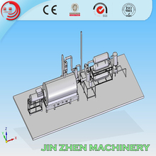Hot selling low cost and high quality pyrolysis machine for waste tyre/plastic/rubber to fuel oil carbon black made in china