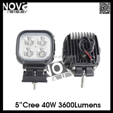 40W Car Led Work Light For Truck And Tractor