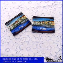 resin Greece souvenir fridge magnet