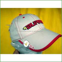 2015 custom 100% cotton golf hat and cap with embroidery LOGO