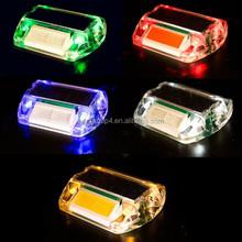 IP68 reflective LED flashing warning plastic road studs
