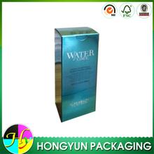 Small glossy paper beautiful cosmetic box, beauty care box