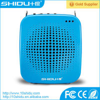amplifier power speaker rechargeable amplifier megaphone with lithium battery shidu s511