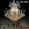 Most popular Decorative crystal black and white chandelier LED