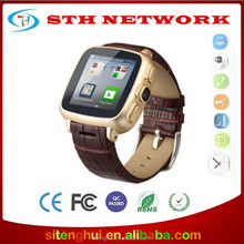 Smart Watch Phone UI9 Waterproof Android 4.4 GPS Wifi MTK6572 Dual Core Bluetooth cell phones 3G