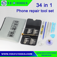 Hot Selling 34 in 1 (Versatile Screwdrivers + Opening Tools) Professional Disassembly Repairing Tool for Mobile Phones