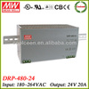 Meanwell DRP-480-24 480w switching power supply 24v 20a