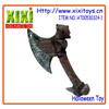 33.5CM Halloween weapons plastic axe toy pirate sword toy
