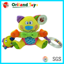 2014 oriland lovely cat teething soft baby toys