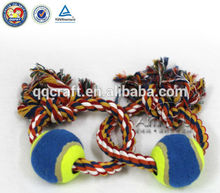 Chew dog toy ball New Dog Pet toy Puppy Chew Cotton, Ball Braided Bone Knot Toys products Playing