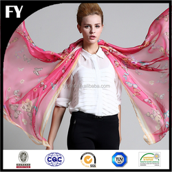2015 China Professional Factory Dighital Print Top Quality cotton poplin scarf