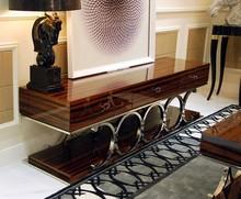Luxury living room furniture TV Cabinet Coffee table