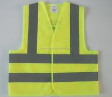 100% knitting Children Safety Vest Kids safety vest