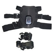 2015 fashion dog harness soft for Go pro her0 4 3+ 3 2 sport camera 0789