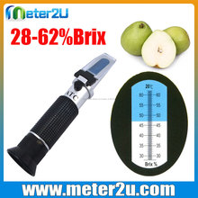 <span class=keywords><strong>Toptan</strong></span> <span class=keywords><strong>şeker</strong></span> refraktometre RHB-62ATC taşınabilir refraktometre fiyat