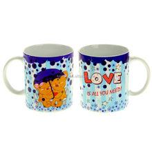 Color Changing Mug LOVE IS ALL YOU NEED Valentine souvenir mug