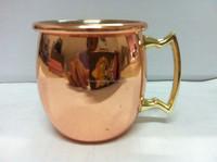 2oz mini Copper Moscow Mule Shot Mugs ,2oz ginger beer copper cup,2-Ounce Solid Copper Moscow Mule Shot Mug