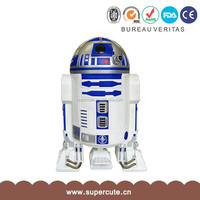 2015 Hot sale High Quality ABS&PVC Star Wars R2-D2 shape design garbage can