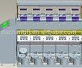 De alta velocidad de doble rf231c bobinadora, enrollador de textiles