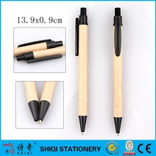 Cheap factory recycled paper ballpen for gift