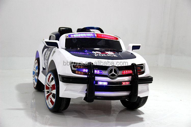 Rc Cars For Kids >> Enfants batterie de la voiture de police, Police voitures électriques pour enfants-Voiture de ...