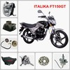 ITALIKA FT150GT motorcycle spare part Seat Tail Cover & Frame Cover & Front Fork
