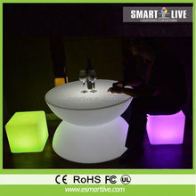 promotion sale led table/Huizhou chair&table&sofa&cube
