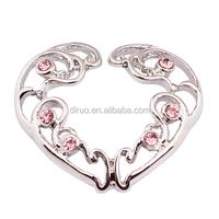 Stinless steel non piercing nipple ring nipple shield