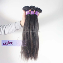 2015 New Product 100% Virgin Indian Straight Human Hair Hot Sale