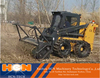 new disign skid steer Forestry Mulcher from HCN company