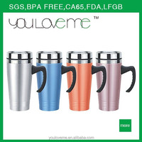 hot new products for 2015 double wall stainless steel vacuum insulated travel coffee mugs