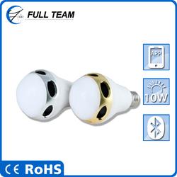 Portable Bluetooth Speaker Stereo Wireless Speakers 7 Color lED Light Handsfree Subwoofer Loudspeakers