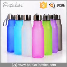 hot eco-friendly matte black massage water bottles