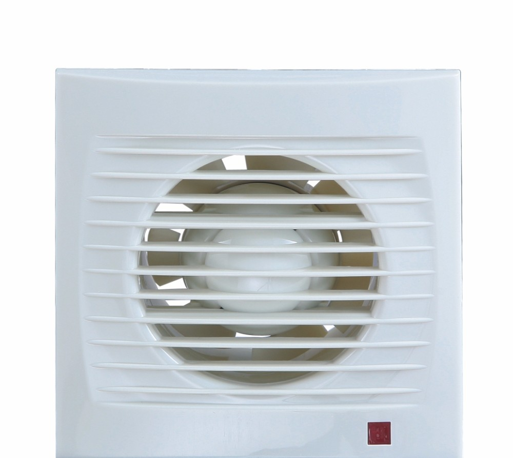 Through Wall Ventilation Fan : Through wall ventilation fan white square plastic grille