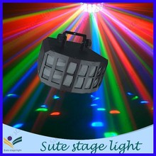 butterfly Double checked derby led disco light