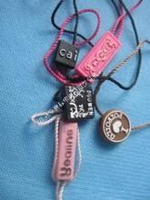 brand clothing hang tag, Custom clear plastic hang tag