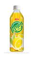 bebida carbonatada con limón